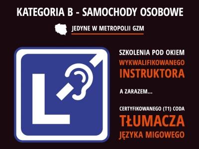 Prawo jazdy dla niesłyszących i niedosłyszących w MotoRat!  - obraz representatywny